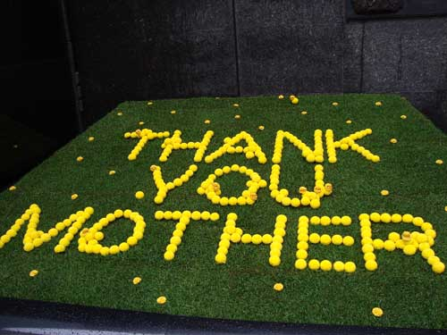 Happy Mother's Day, Ginza flowers