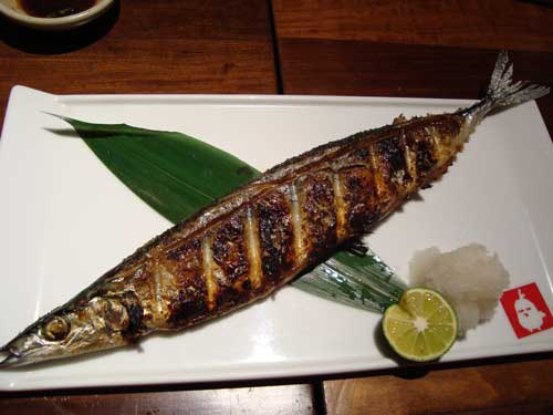 Sama fish at Hinaya