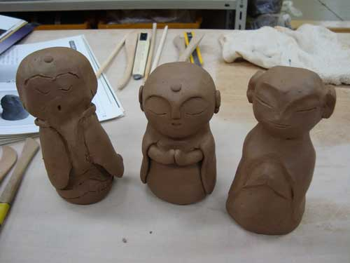 Making Ojizō-samas
